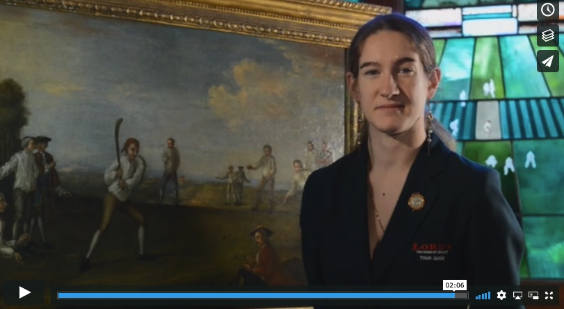 Tour guide at Lord's Cricket Ground, Izzy, discusses her favourite item in the MCC museum collection.